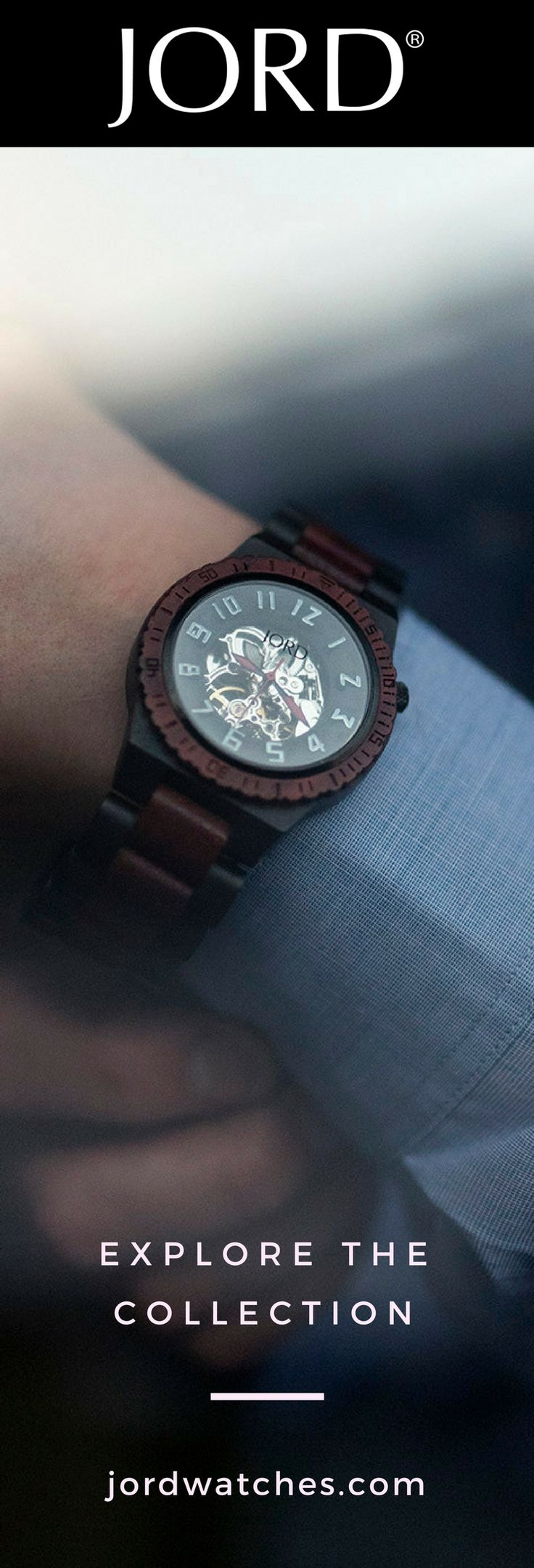 Analog watches are trending again, lucky for us - they've gotten a material upgrade! Have you seen a wood watch yet? If you haven't already - you will soon. Be the first and find yours at jordwatches.com, the premiere wood watch maker in the market.