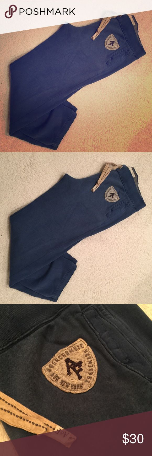 Abercrombie & Fitch Sweatpants Gently Used Abercrombie & Fitch Pants Sweatpants & Joggers