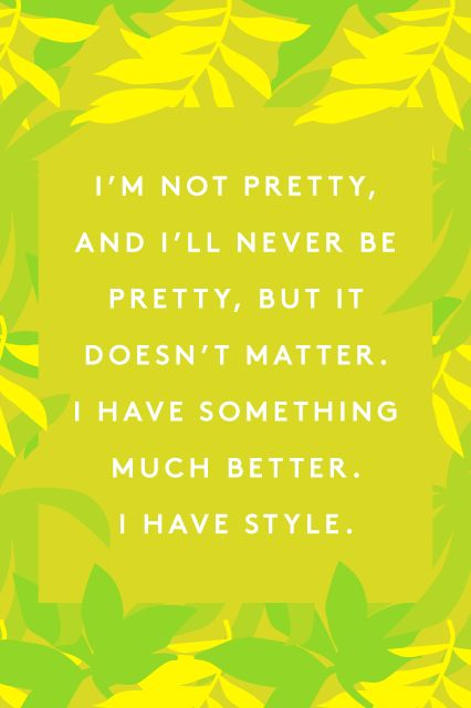 15 Iris Apfel Quotes That'll Change The Way You Think About Fashion #refinery29  http://www.refinery29.com/iris-apfel-quotes#slide-3  Probably the best backhanded compliment anyone has ever received.