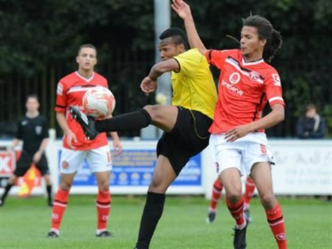 MARCUS DINANGA EXTENDS HIS YOUTH LOAN WITH MATLOCK TOWN