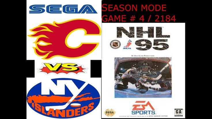 Lets Play(FR/QC) NHL 95 - Match #4 / 2184 (SEASON MODE)  Dance and play !  #letsplay #nhl95 #sega #maitrefun #jeux #season #retro