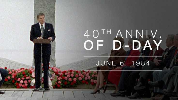 Normandy Speech: Ceremony Commemorating the 40th Anniversary of the Norm...