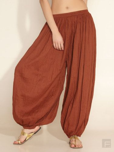 Cotton Harem  Pants by LittleLilbienen on Etsy, $30.00