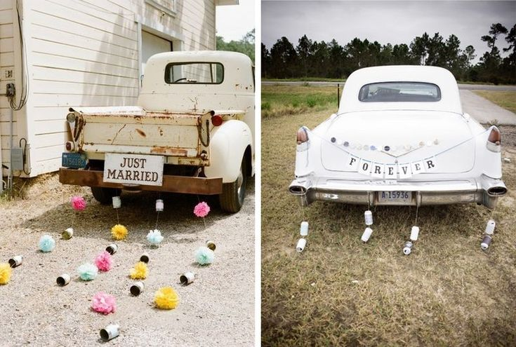 E Car >> ANNAWII ♥ - MY BOHEMIAN WEDDING - THE CAR SIGN | MY BOHEMIAN WEDDING | Pinterest | Bröllop