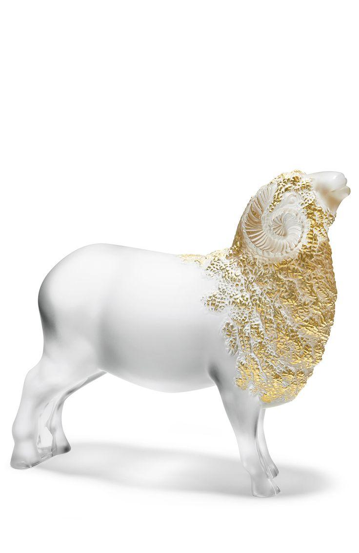 Lalique Фигурка Ram Бесцветный 102 570 Р.
