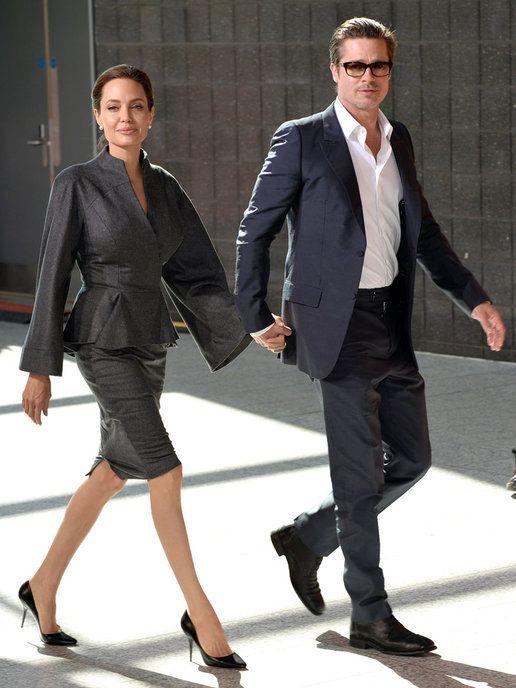アンジェリーナ・ジョリー(Angelina Jolie) ブラッド・ピット(Brad Pitt)