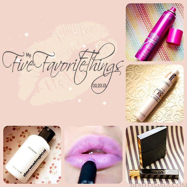My Five Favorite Things!