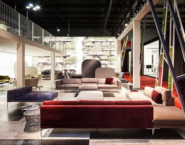 Stunning New Saba Italia Furniture Designed By Sergio Bicego Was Launched At The Milan