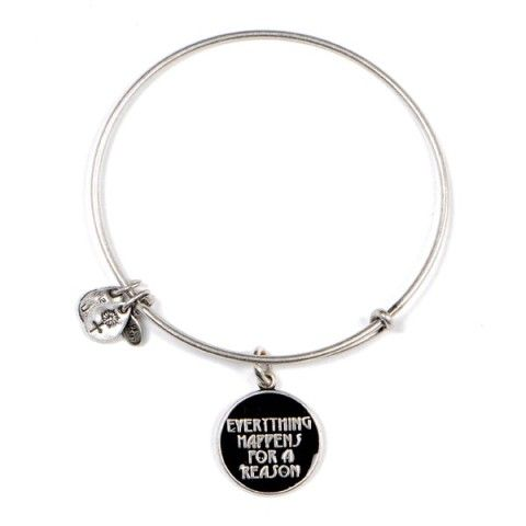 Alex and Ani: Everything Happens for a Reason Charm Bangle