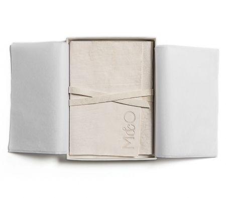 Leather & Letterpress Wedding Invitation Suite / Debossed Leather Wrap / Luxury / Chic / Modern ...