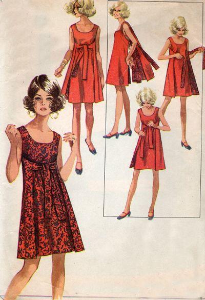 1960s Wrap-Around Dress