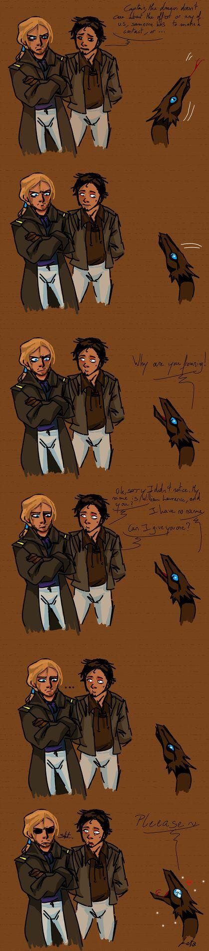 When Captain Wurence Meet Temeraire 30 By Kurokato