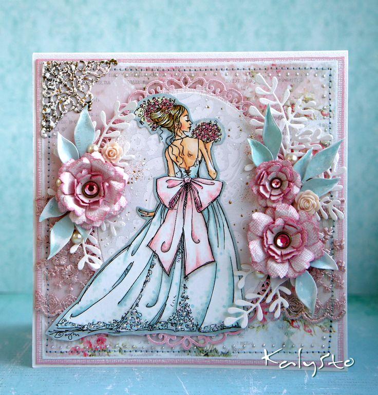 Лисицей, открытки ручная работа платье