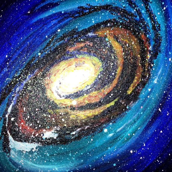 9 best images about space on pinterest the planets for Outer painting design