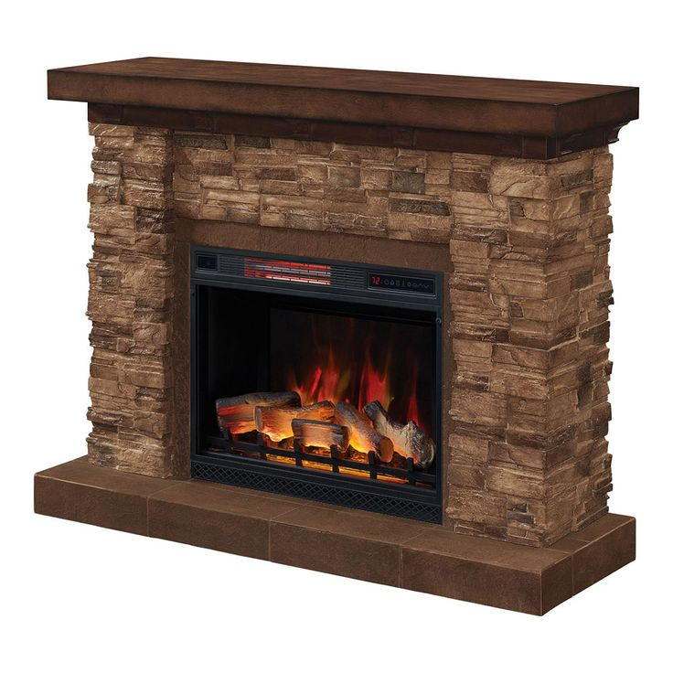 Stone Fireplace With Cabinets: Best 25+ Stone Electric Fireplace Ideas On Pinterest
