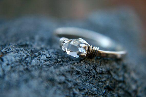 Ring Größe 4.5 Micro Crystal Dazzler Ring © von lemuriandiamond