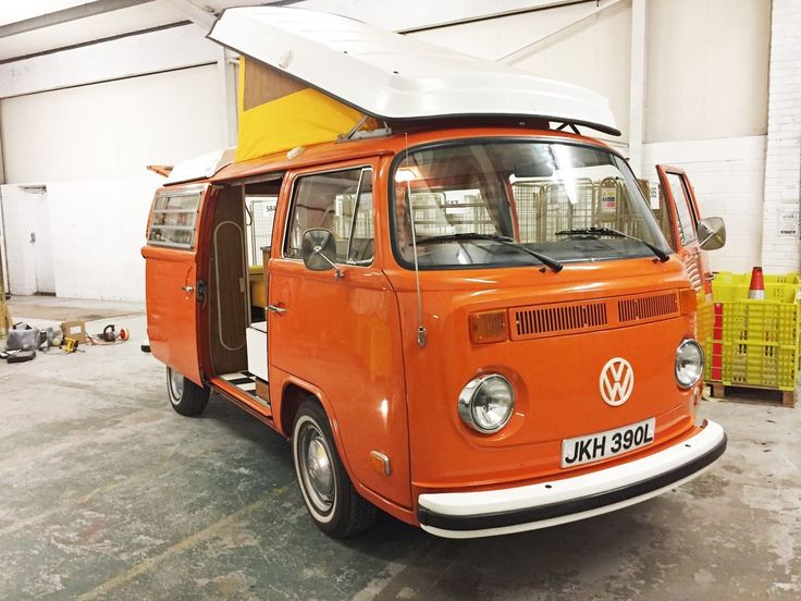 eBay: 1973 Volkswagen Westfalia Camper 100% Rust Free Original Paint Amazing Condition #classiccars #cars