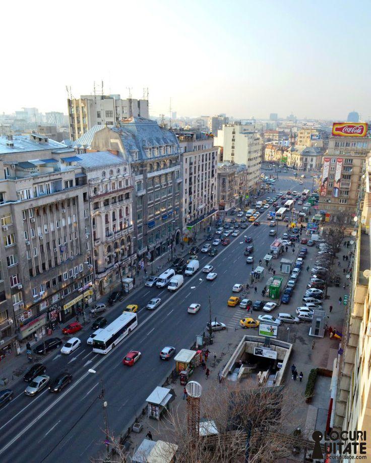 Romana Square (Piata Romana) Bucharest, Romania