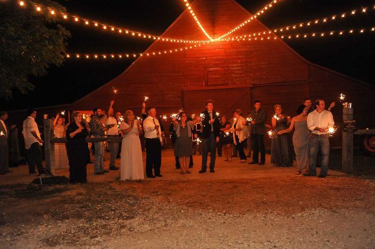 Barn Wedding Ideas | Wedding Venue Ideas | Rustic Wedding Ideas | Red Barn | Wedding Ideas | Sparklers | www.rusticgraceeestate.com | Live. Laugh. Photograph.