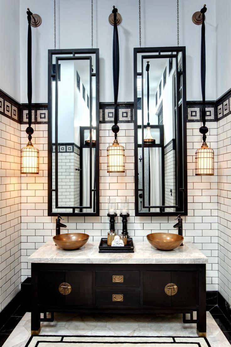Modern Bronze Bathroom Accessories - Classic bathroom light fixtures