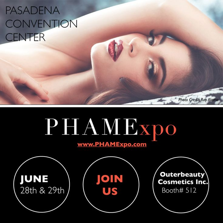 We are exhibiting at #PHAMExpo next weekend (June 28-29). Come visit our #tradeshow booth number 512 at the Pasadena Convention Center. We look forward to meeting you. #phamexpo2014 #bbloggers #beautybloggers #makeupchat #makeuptalk #makeupjunkie #makeup #beauty #blogger #makeupaddict #mua #promua #makeupartist #promakeupartist #losangeles #makeupshow #makeupbrushes #minklashes #fakeeyelashes #fakelashes #minkeyelashes #outerbeautycosmetics #outerbeautyinc