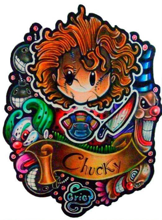 Chucky,o boneco assassino