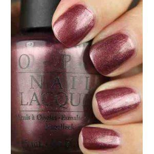 Love OPI Nail Polish! This color is a good one if you like more the lighter color.
