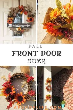fall wreaths for front door fall wreaths for diy fall wreath ideas front door id…