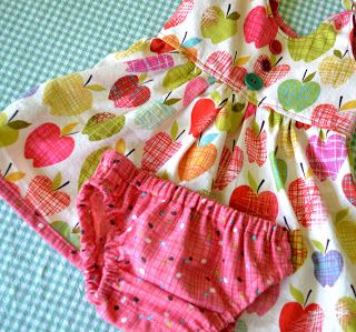 From The Hive: itty bitty baby dress (and diaper cover and bonnet)--cute dress, cute diaper cover, and both free. Excellent. Also very cute bonnet but that pattern has to be paid for.