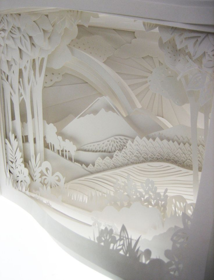 Emily Hogarth - book, 54 individually cut pages