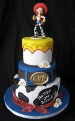 Jessie Toy Story | A realistic fondant bandana highlights th… | Flickr
