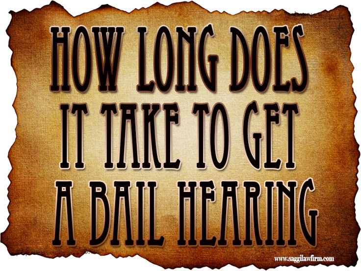 Check this link right here http://www.bing.com/local/details.aspx?lid=YN1226x17559876679368893991 for more information on Bail Bond Hearing. You should be asking yourself How Long Does It Take To Get A Bail Hearing.
