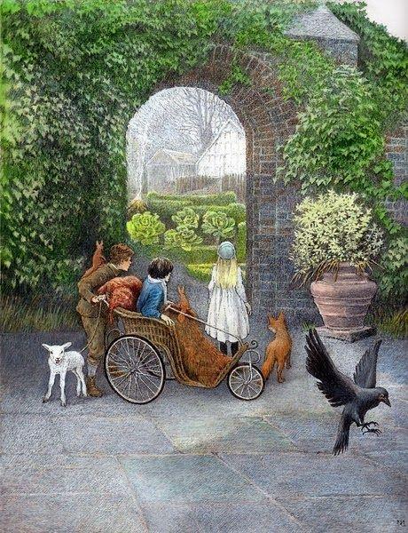 Princesa nadie el jard n secreto the secret garden for Cancion secretos en el jardin