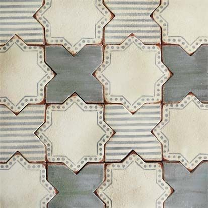 Corteo 3- terracotta tile- Tabarka Studio (showrooms in Knoxville, Chattanooga, Nashville, Bowling Green, Charlotte)