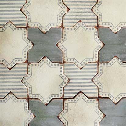 Corteo 3- terracotta tile- Tabarka Studio