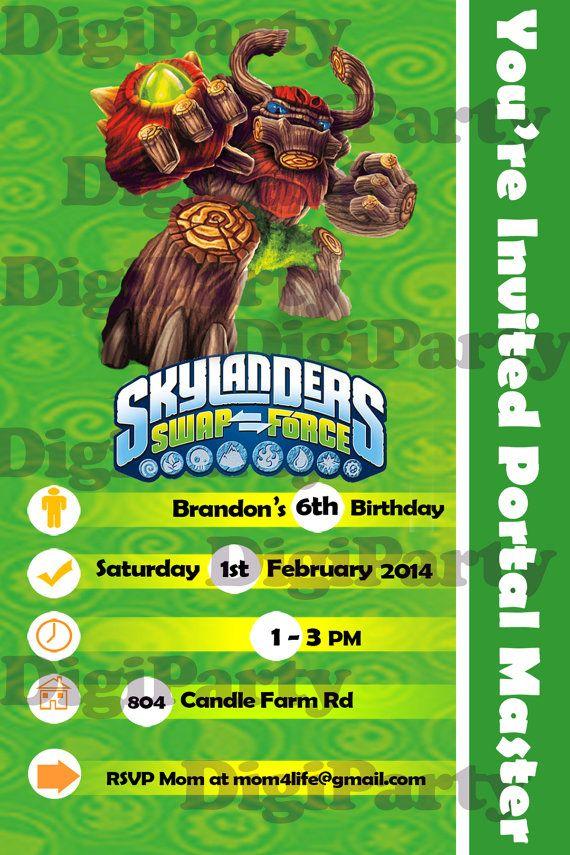 12 best Skylanders trap team birthday party images on Pinterest ...