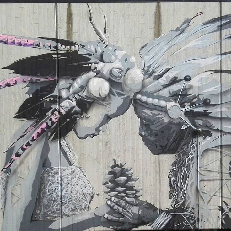AFK and Pure Evil for the Nuart Sandnes Art Trail