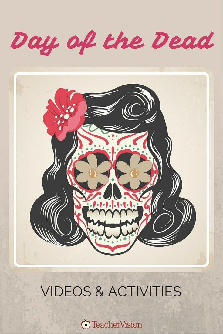 Introduce the history, traditions and symbols of Día de los Muertos, celebrated on November 1 and 2, with these educational videos and classroom activities. https://www.teachervision.com/day-of-the-dead/videos-and-activities/75503.html?utm_content=buffer83aef&utm_medium=social&utm_source=pinterest.com&utm_campaign=buffer #DayOfTheDead #videoed #sschat
