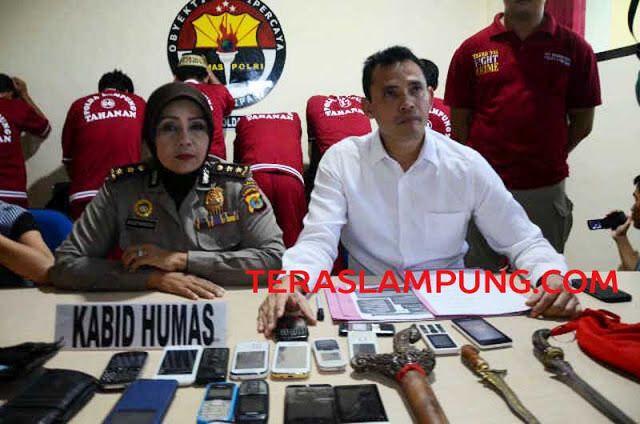 Teras Lampung: Sindikat Penjualan Orok Pelajar  Diringkus Polda Lampung di Jateng