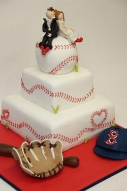 Awesome Baseball cake! love the stitching. #food #art