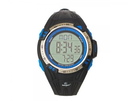 SARGAN Водонепроницаемые мужские часы глубиномеры для дайвинга вектор 100м