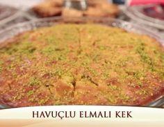 Nurselin Mutfağı Havuçlu Elmalı Kek