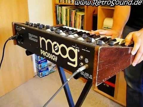 Moog Prodigy Analog Synthesizer (1979)