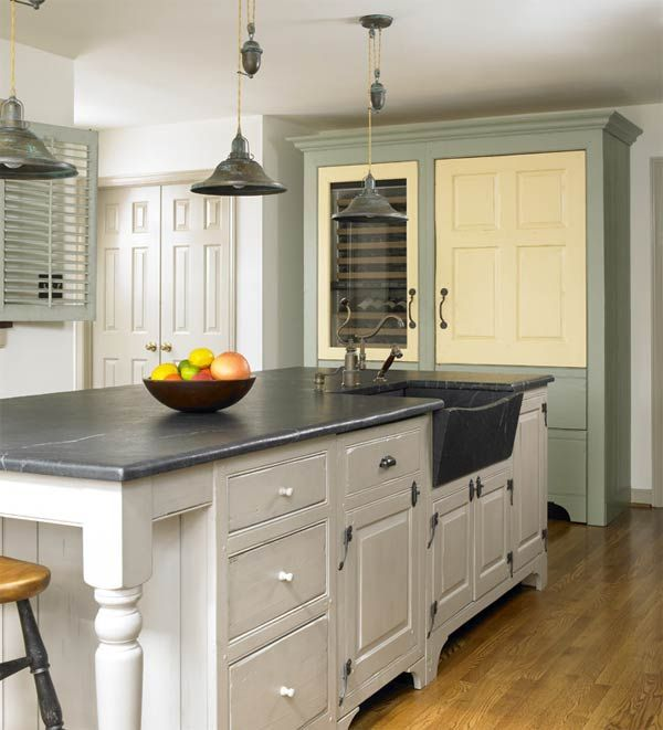 Painted Kitchen Cabinet Designs: 10+ Images About Kitchen