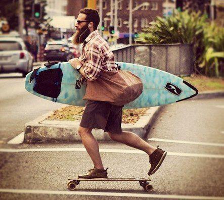 surf, longboard e muito, mas muito estilo!