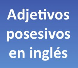 En esta lección aprenderás sobre los adjetivos posesivos en inglés por medio de imágenes y ejemplos. Los adjetivos posesivos como su nombre lo indica son adjetivos que se usan para expresar posesión de un objeto, persona o lugar.