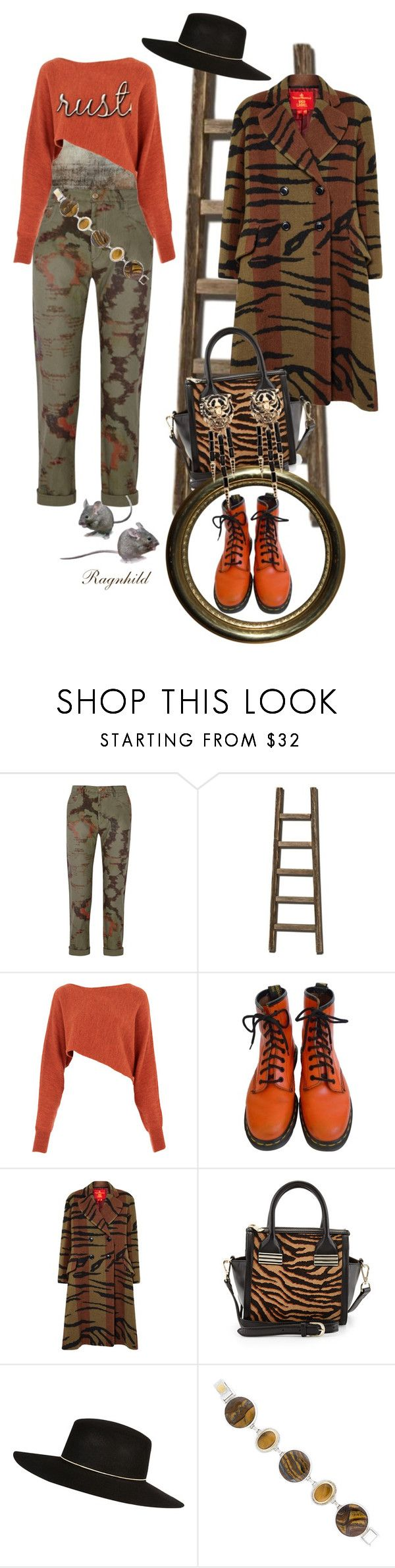 """""""Dagen antrekk / Today's Outfit TIGER"""" by ragnh-mjos ❤ liked on Polyvore featuring Helmut Lang, Étoile Isabel Marant, Crea Concept, Dr. Martens, Sondra Roberts, River Island, Gurhan, Roberto Cavalli and outfitoftheday"""