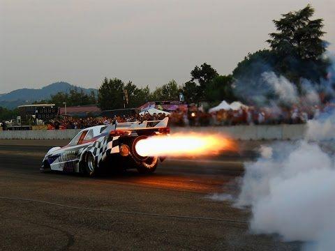 Incredibile. Hills Race 2016: motori da jet, maggiolini, hot rod, dragster, muscle car - YouTube