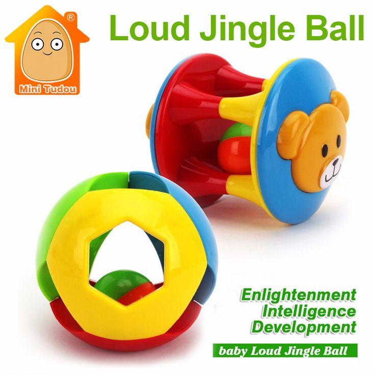 Minitudou 교육 toys 재미 작은 소리 징글 볼 개발 지능 기차 파악 능력을 장난감 유아 toys
