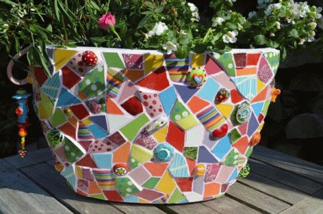 die besten 25 mosaikkunst ideen auf pinterest mosaik. Black Bedroom Furniture Sets. Home Design Ideas